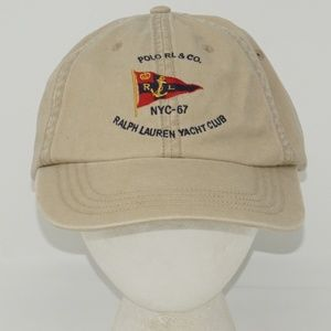 MENS POLO BY RALPH LAUREN YACHT CLUB HAT